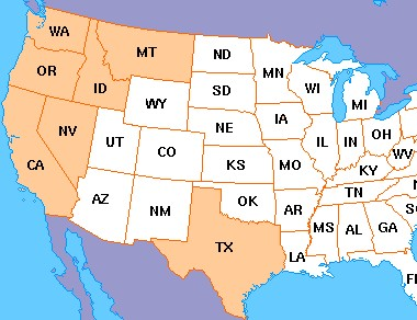 States with Current Report Coverage